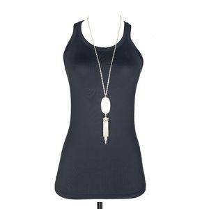 Zara TRF Black Athletic Workout Tank Top A120569